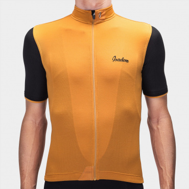 Signature Cycling Jersey Golden Oak/ Black