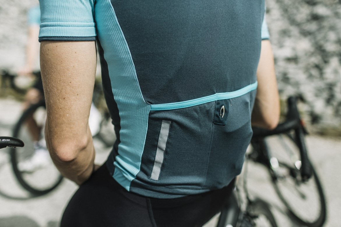 Signature Cycling Jersey Orion Blue/ Aquarelle