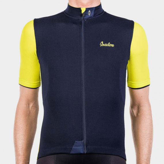 Signature Cycling Jersey Maritime Blue/Sulphur Spring