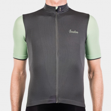 Signature Cycling Jersey Steel Grey/Reseda