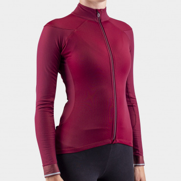 I7A3O7E Echelon Long Sleeve Jersey Zinfandel Women