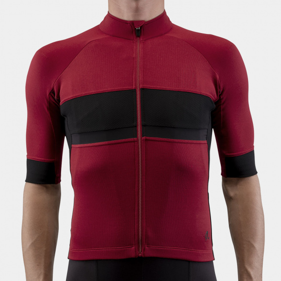 Gravel Jersey Rio Red