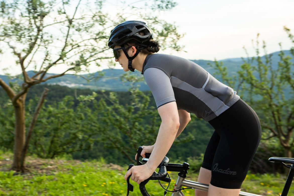 Signature Cycling Jersey Steel Grey/Quicksilver 2.0